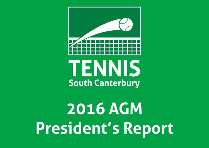Tennis-SC-2016AGM-Presedents-Report