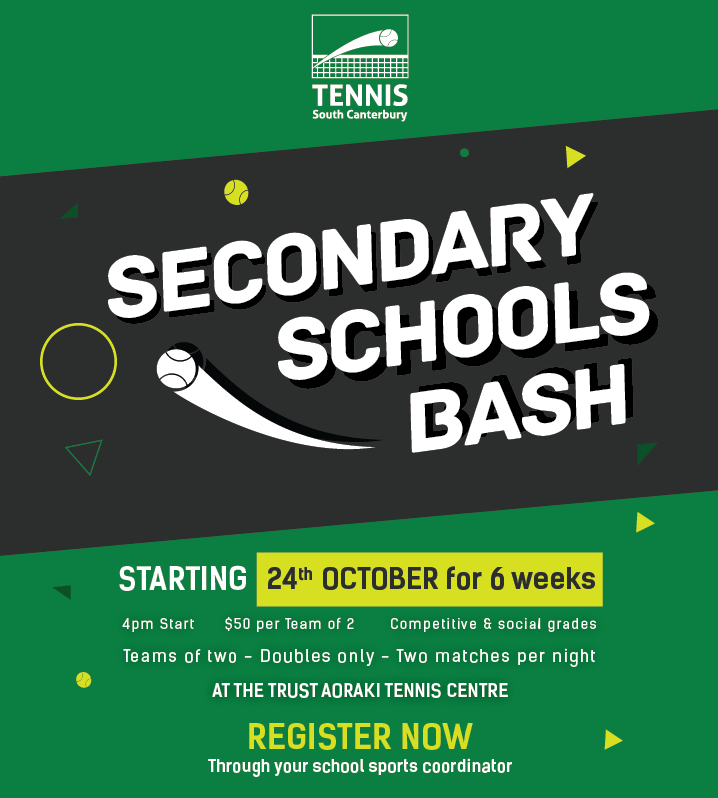 Secondary Schools Bash Poster
