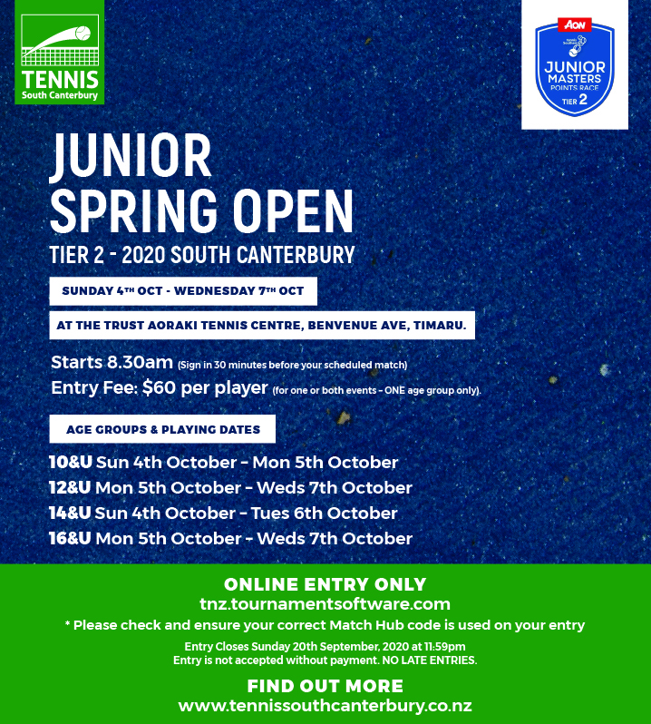 Junior Spring Open 2020 FB Post-100